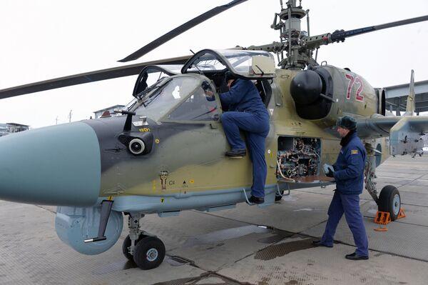 Los 'caimanes de hierro', nuevos helicópteros de ataque Ka-52 - Sputnik Mundo