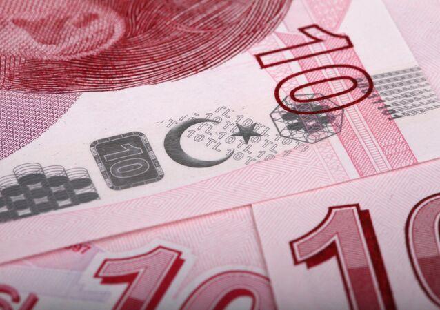 Billetes de liras turcas