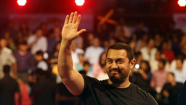 Aamir Khan, actor indio - Sputnik Mundo