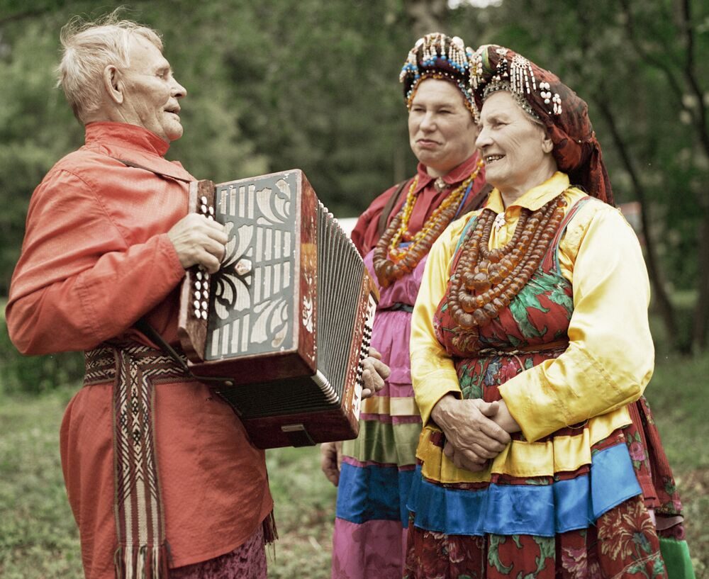 'Viejos creyentes' de la república de Buriatia.