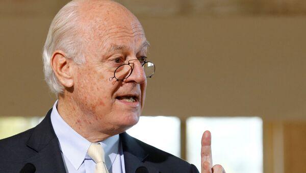 Staffan de Mistura, el enviado especial de la ONU para Siria - Sputnik Mundo