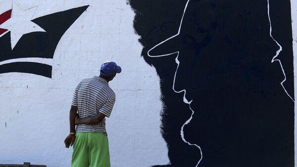 Una imagen de Fidel Castro - Sputnik Mundo