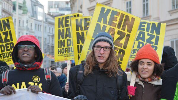 Anti-Hofer Demo in Wien am 3. Dezember - Sputnik Mundo