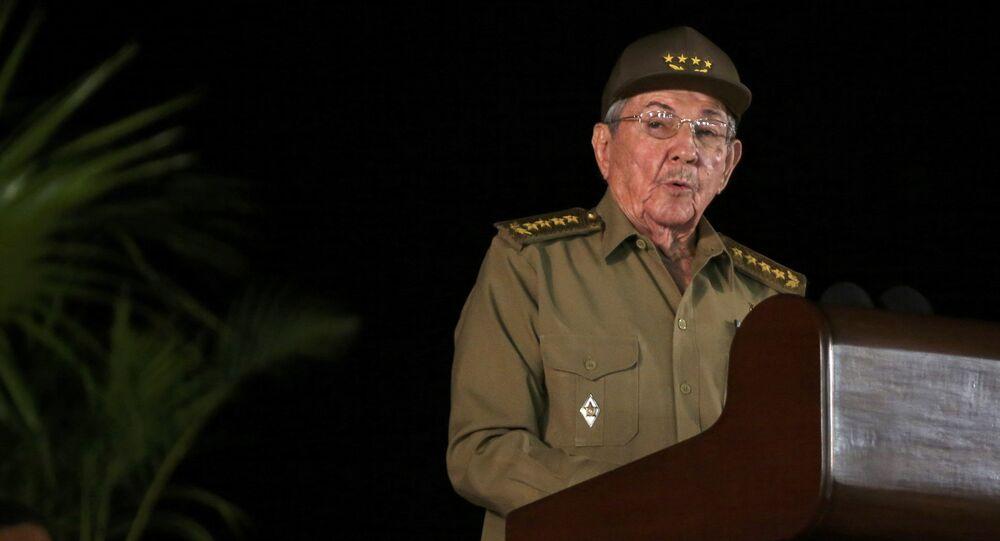 Raúl Castro, primer secretario del Partido Comunista cubano (archivo)