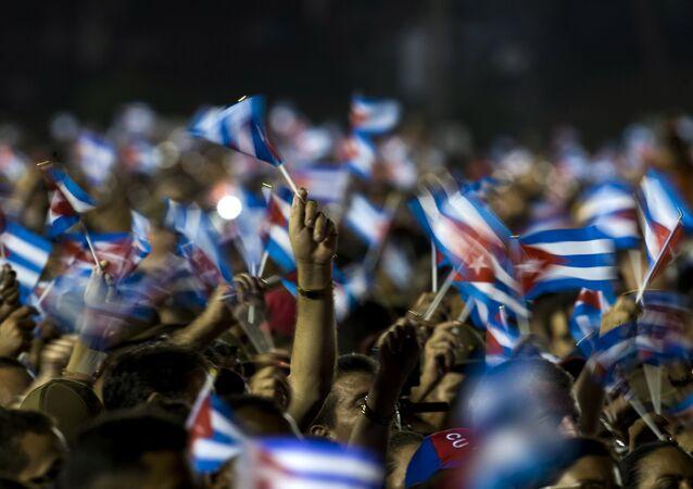 Las banderas de Cuba