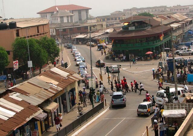 Accra, la capital de Ghana