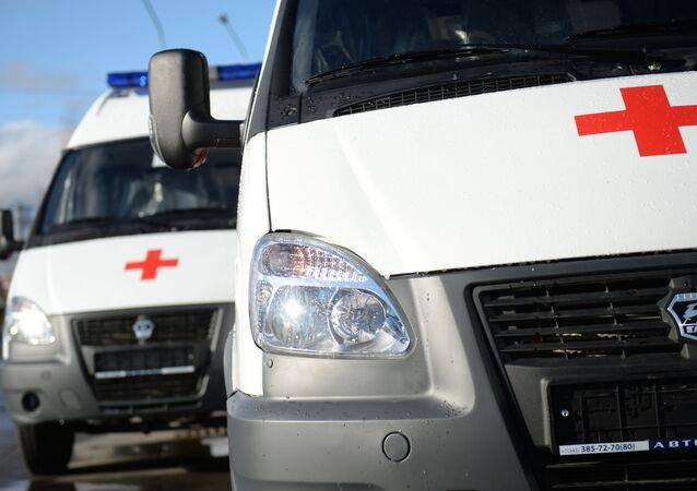Ambulancia rusa (imagen referencial)