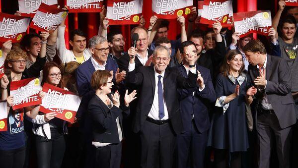 Alexander Van der Bellen, el candidato a la presidencia de Austria - Sputnik Mundo