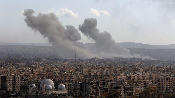 La situación en Alepo, Siria (archivo) - Sputnik Mundo