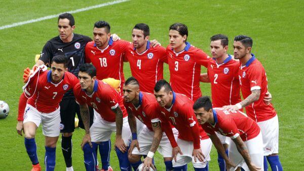 Chile national football team - Sputnik Mundo