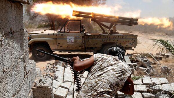 La batalla en Sirte (archivo) - Sputnik Mundo