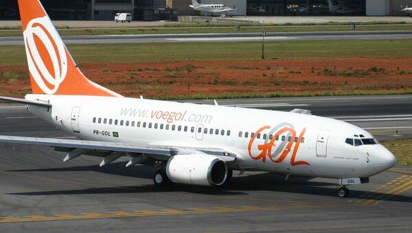 Un avión de Gol Transportes Aéreos - Sputnik Mundo