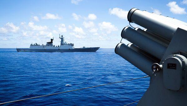 Buques chinos en el Mar del Sur de China - Sputnik Mundo