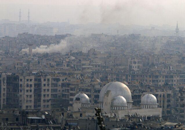 Consecuencias de los combates en Alepo, Siria