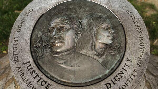Monumento conmemorativo de Orlando Letelier y Ronni Moffitt - Sputnik Mundo
