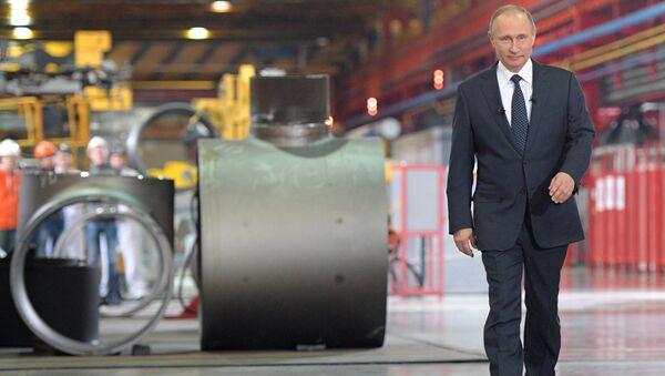 Рабочая поездка президента РФ В. Путина в Челябинскую область - Sputnik Mundo