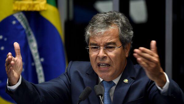 Jorge Viana, senador del Partido de los Trabajadores (PT) - Sputnik Mundo