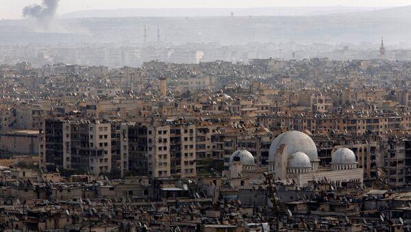 La ciudad siria de Alepo (archivo) - Sputnik Mundo