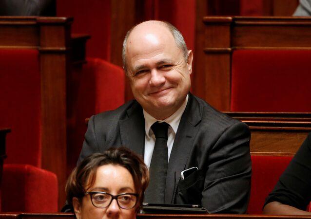 Bruno Le Roux, líder del grupo socialista en la Asamblea Nacional de Francia