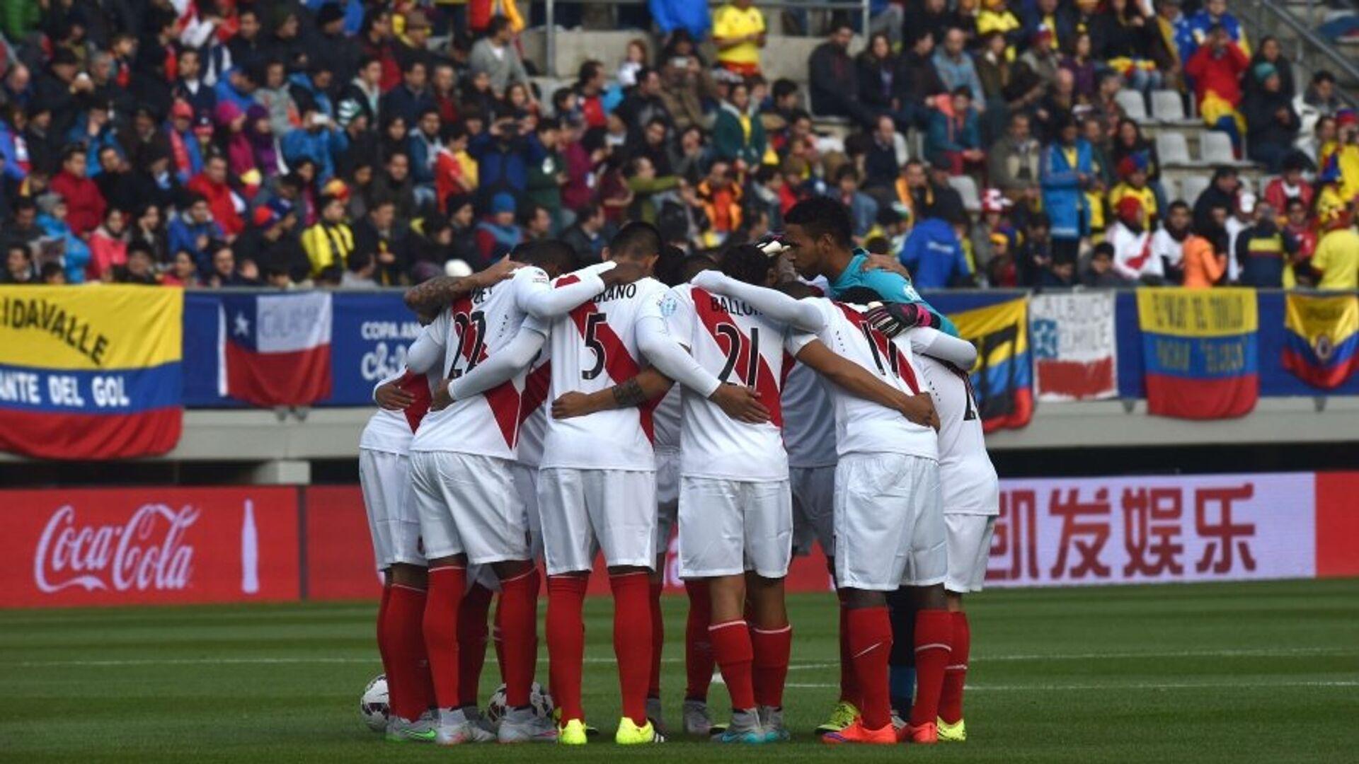 La selección de fútbol de Perú (archivo) - Sputnik Mundo, 1920, 18.05.2021