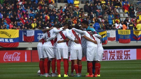 La selección de fútbol de Perú (archivo) - Sputnik Mundo