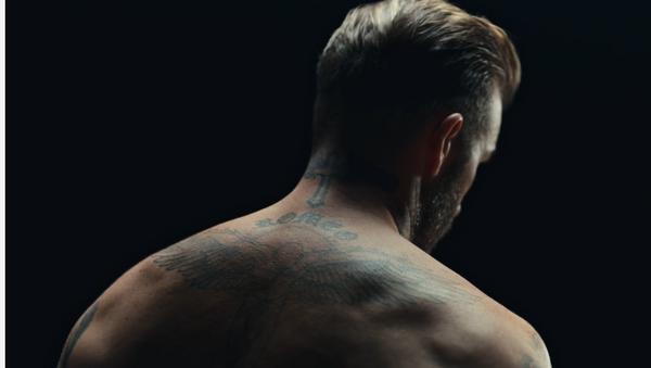 David Beckham protagoniza campaña de la Unicef - Sputnik Mundo