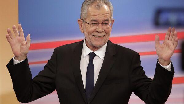 El presidente de Austria, Alexander Van der Bellen - Sputnik Mundo