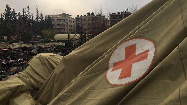 Hospital ruso bombardeado en Siria - Sputnik Mundo