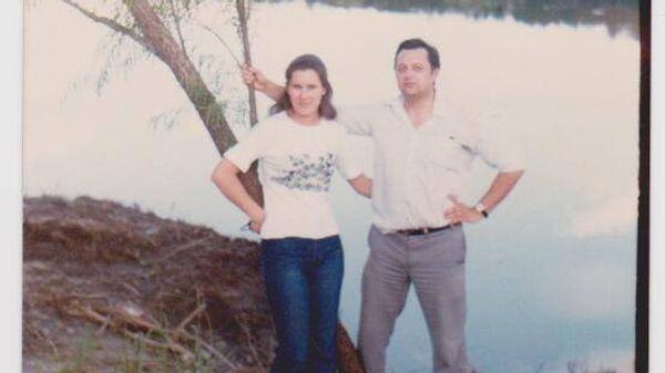Vladimir Roslik y su esposa María Cristina Zavalkin - Sputnik Mundo