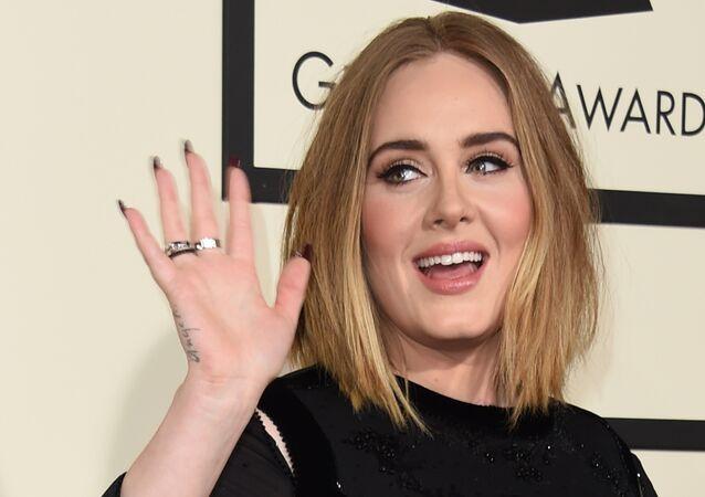 Adele, cantante británica