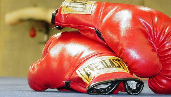 Boxing gloves - Sputnik Mundo