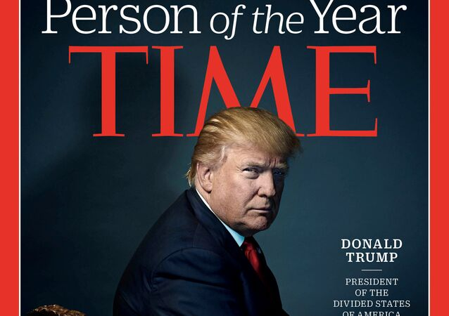 Donald Trump, en la portada de la revista Time (archivo)