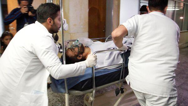 Alan Ruschel en un hospital (Archivo) - Sputnik Mundo