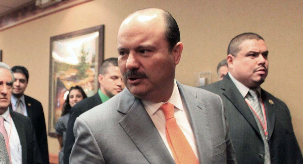 César Duarte, exgobernador del norteño estado de Chihuahua