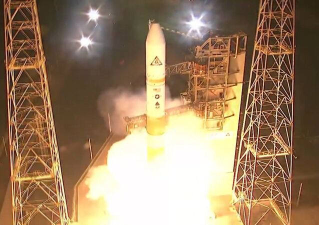Al detalle: cómo despegó el cohete Delta IV desde cabo Cañaveral