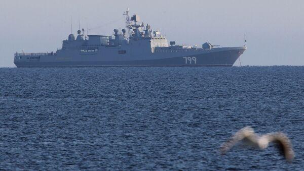 Fragata Admiral Makarov (archivo) - Sputnik Mundo