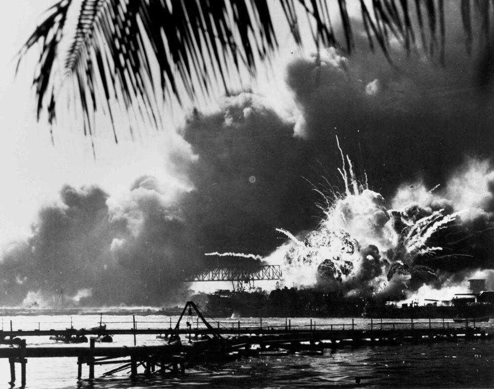 Fotos históricas: 75 años de la tragedia de Pearl Harbor