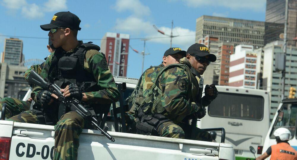Militares venezolanos (imagen referencial)
