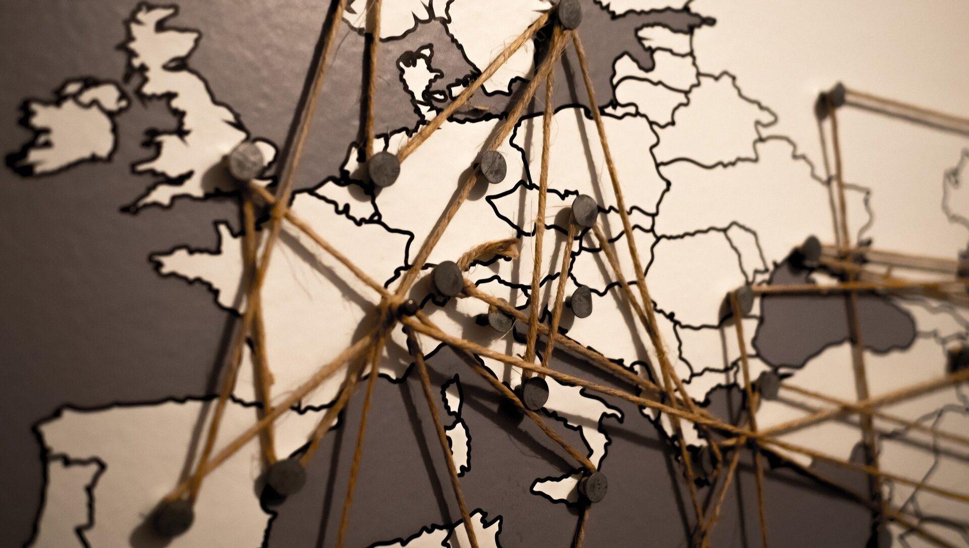 El mapa de Europa - Sputnik Mundo, 1920, 15.10.2020