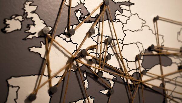 El mapa de Europa - Sputnik Mundo