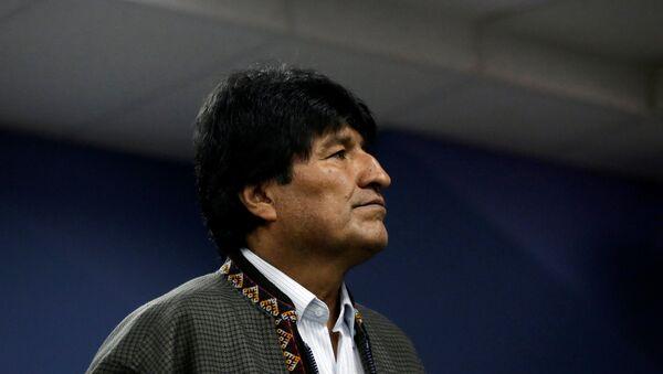 Evo Morales, expresidente de Bolivia - Sputnik Mundo