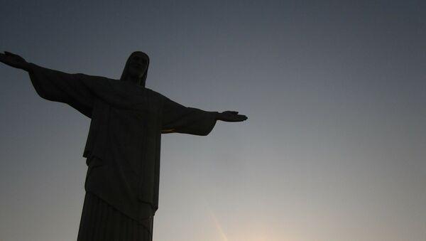 El Cristo Redentor de Río de Janeiro (archivo) - Sputnik Mundo
