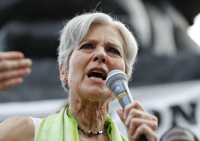 Jill Stein, candidata a la presidencia de EEUU por el Partido Verde en 2012 y 2016