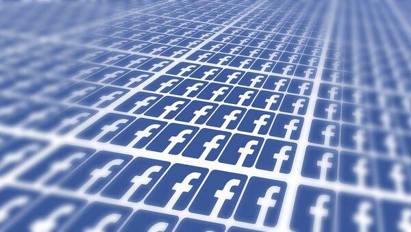 Logo de Facebook (archivo) - Sputnik Mundo
