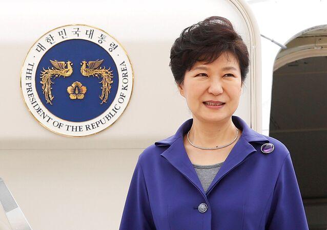 Park Geun-hye, la presidenta suspendida de Corea del Sur