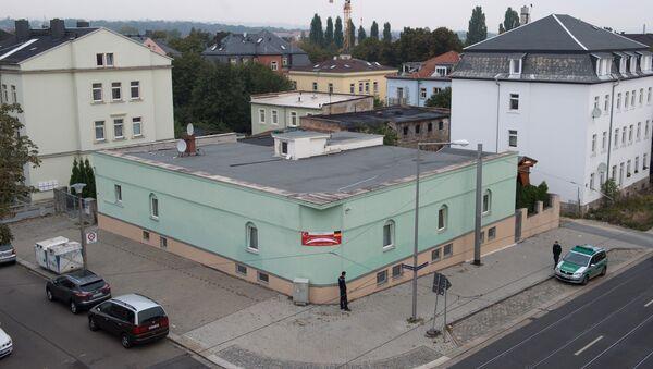 La mezquita atacada en Dresde - Sputnik Mundo