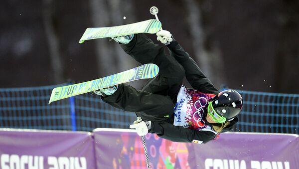 Katia Griffiths, esquiadora española, en los Juegos Olímpicos de Sochi - Sputnik Mundo
