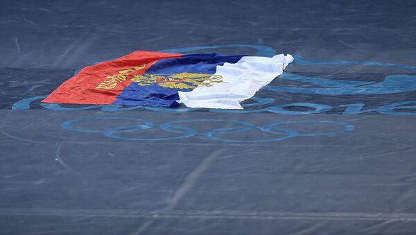 La bandera de Rusia en los Juegos Olímpicos en Río 2016 - Sputnik Mundo