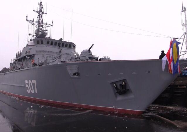 El dragaminas de nueva generación entra en servicio de la Armada de Rusia