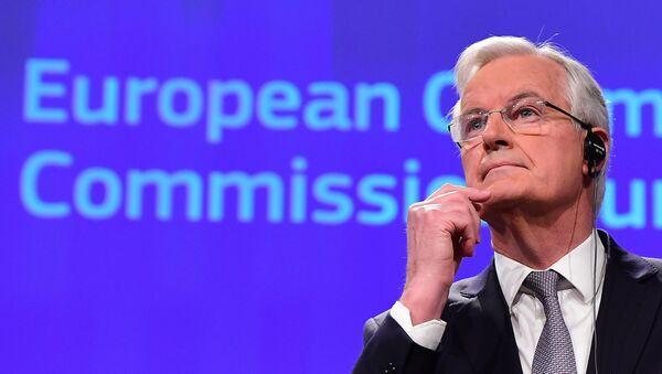 Michel Barnier, el responsable de la Unión Europea para las negociaciones con el Reino Unido sobre su salida del bloque comunitario - Sputnik Mundo